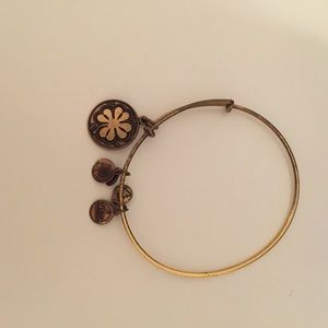 Alex and ani clover bracelet